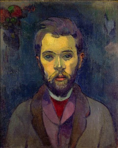 """Qui a fait le """"Portrait de William Mollard"""" ?"""