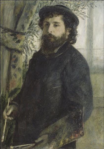 Qui a représenté le peintre Claude Monet ?