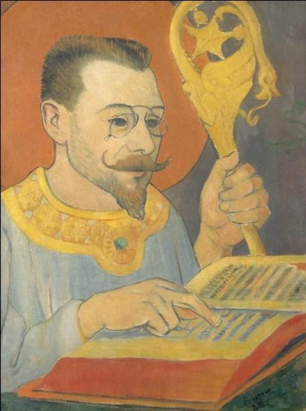 """Qui a réalisé le """"Portrait de Paul Ranson en tenue nabique"""" ?"""