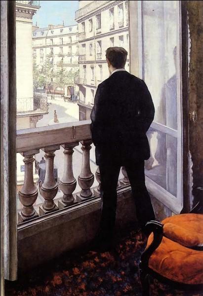 """Qui a peint """"Jeune homme à la fenêtre"""" ?"""