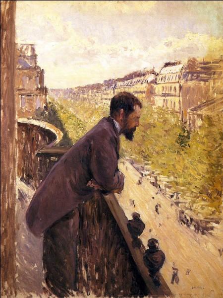 """À qui doit-on """"L'Homme au balcon"""" ?"""