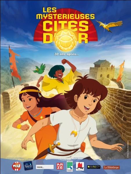 Comment s'appellent les enfants dans ''Les Mystérieuses Cités d'or'' ?