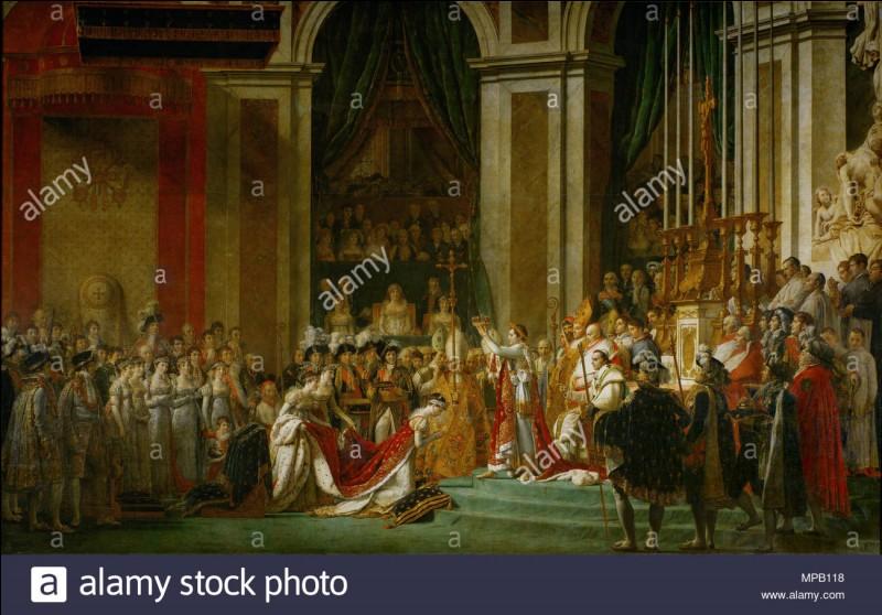 En quelle année Napoléon Bonaparte se couronna-t-il empereur ?