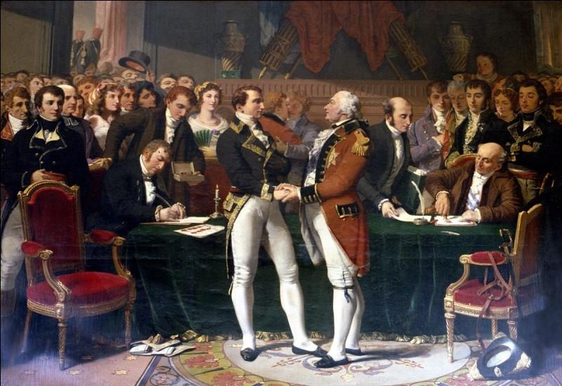 Quel traité signé en 1802 met fin aux guerres de la France révolutionnaire ?