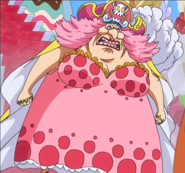 Quel est le but de Big mom lorsqu'elle débarque à la prison de Udon ?