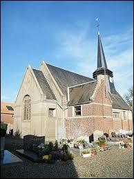 Vous avez sur cette image l'église Saint-Martin de Doncourt-Popincourt. Village des Hauts-de-France, il se situe dans le département ...