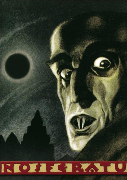 """Nosferatu le vampire"" est un film réalisé par Friedrich Wilhelm Murnau."