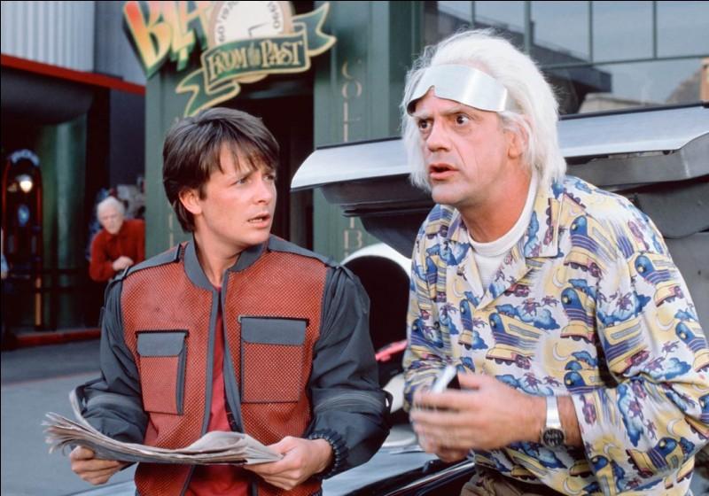 """""""Retour vers le futur"""" est un film de Steven Spielberg."""