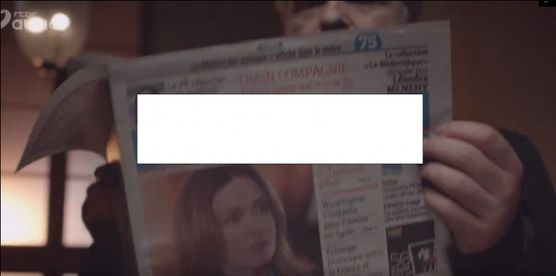 Quel est le nom du journal que Solanas lit ?