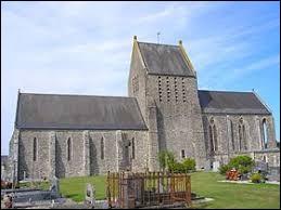 Vous avez sur cette image l'église Notre-Dame de Couvains. Village normand, il se situe dans le département ...