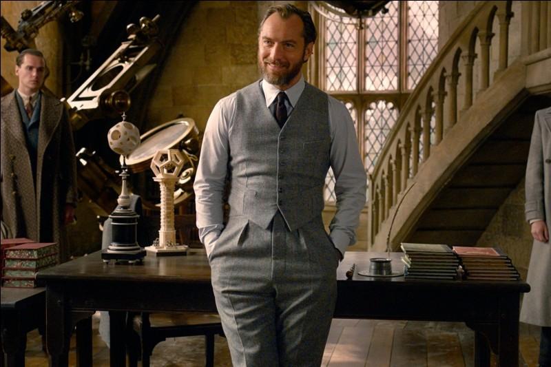 Quelle matière Albus Dumbledore enseignait-il avant de devenir directeur de Poudlard ?
