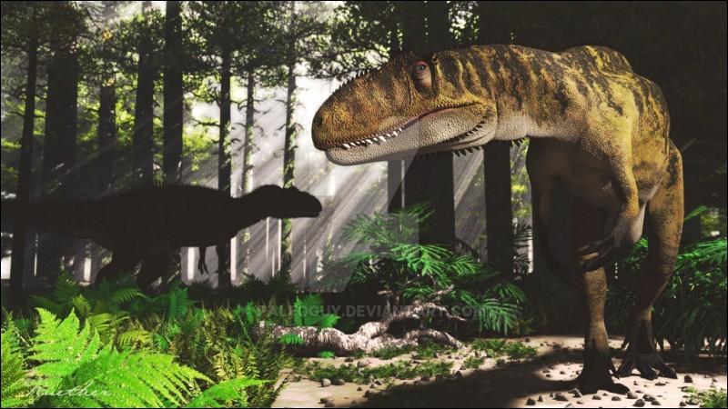 Si tu étais un dinosaure, tu chasserais :