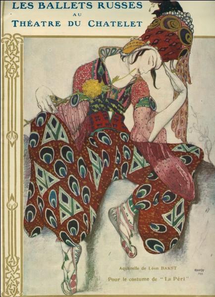Qui parmi ces individus, qui était chorégraphe pour les ballets russes ?