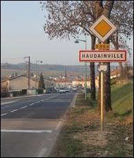 Commune Meusienne, Haudainville se situe dans l'ancienne région ...