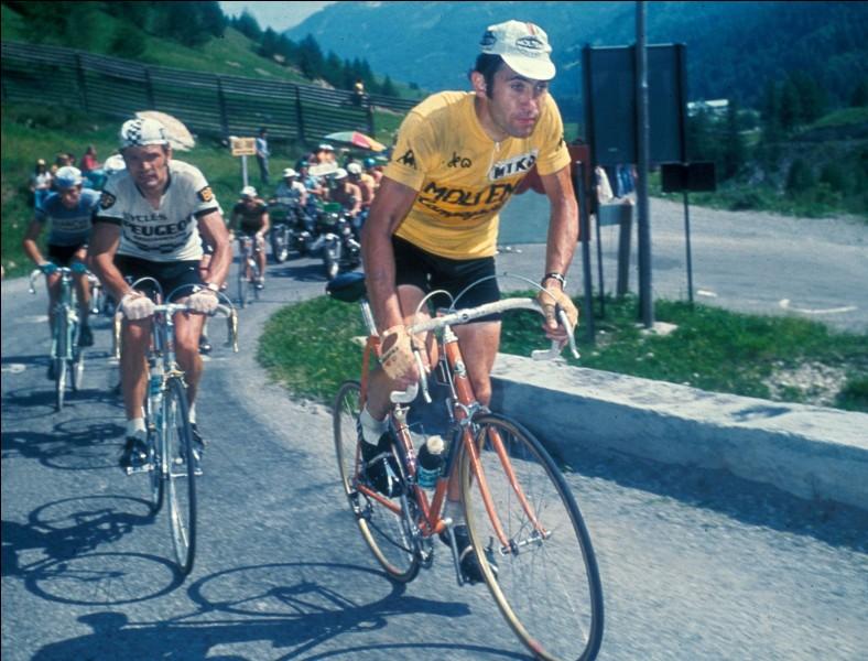 Ce coureur français a remporté le Tour en 1975 et en 1977, devançant deux fois Eddy Merckx. Il s'agit de ...