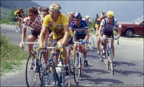 Autre cycliste français, il a remporté deux Tours, en 1983 et 1984, avant d'échouer de 8 secondes pour une 3e victoire en 1989. C'est ...