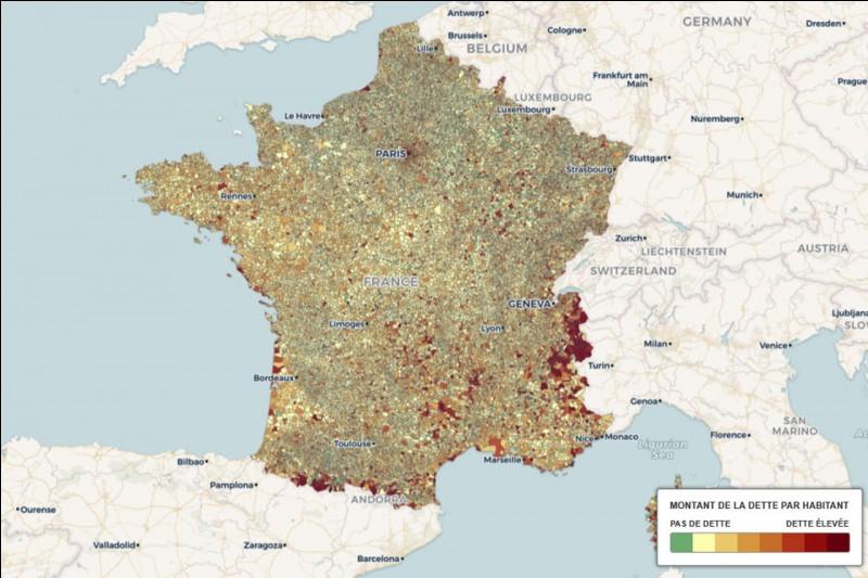 Le numéro du Gers ôté du numéro de l'Essonne indique :