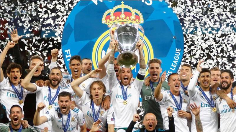 Combien d'UEFA Champion's League le Real Madrid a-t-il gagnées ?