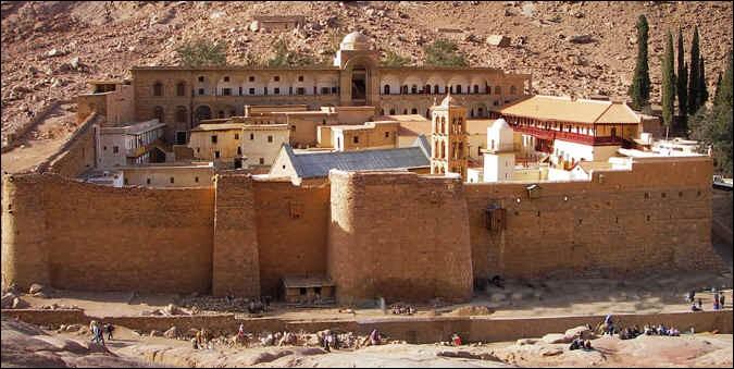 Le Monastère Sainte-Catherine :
