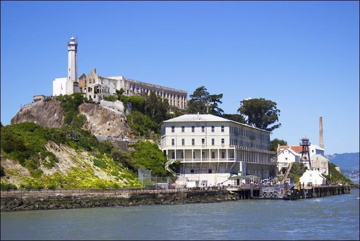 L'île d'Alcatraz :