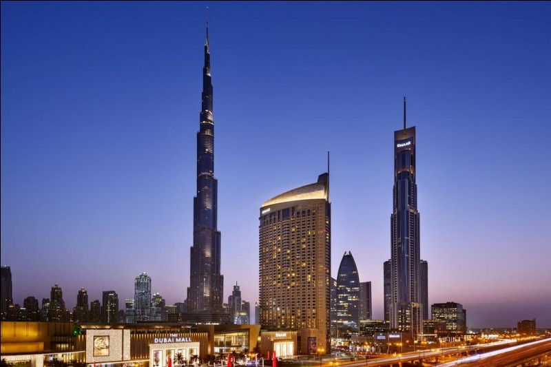 Le Burj Khalifa :