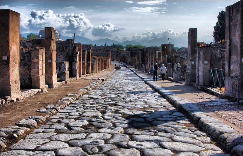 Le site de Pompéi :