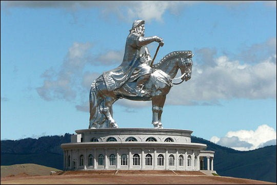 La Statue de Genghis Khan :
