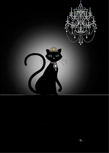 Lequel de ces chats, est un chat noir ?