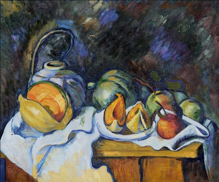 """Qui est le peintre de """"Melons et pommes"""" ?"""