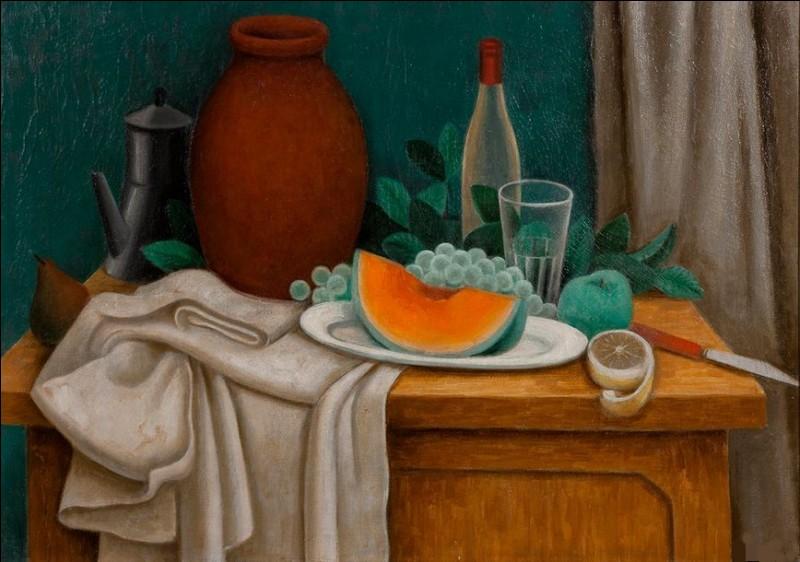 """Qui a peint """"La tranche de melon"""" ?"""