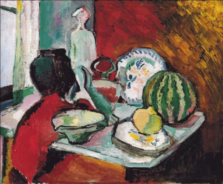 """Qui a peint """"Assiettes et melons"""" ?"""