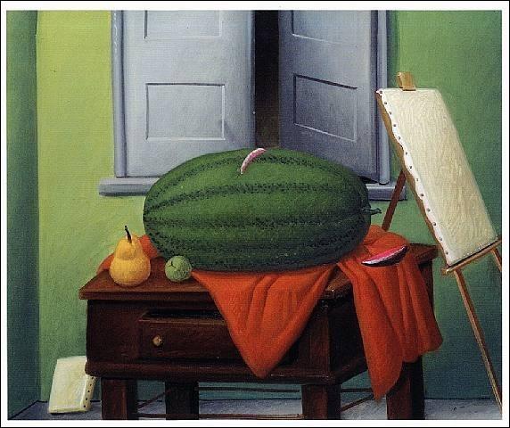 """Qui a réalisé cette """"Nature morte à la pastèque"""" ?"""