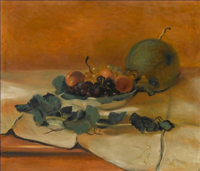 """Qui a peint """"Melons et fruits"""" ?"""