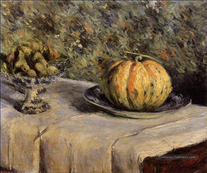 """Qui est le peintre de """"Melon et bol de figues"""" ?"""