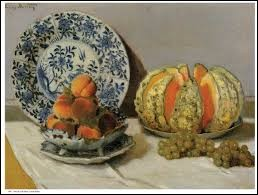 "Qui a peint ""Nature morte au melon"" ?"