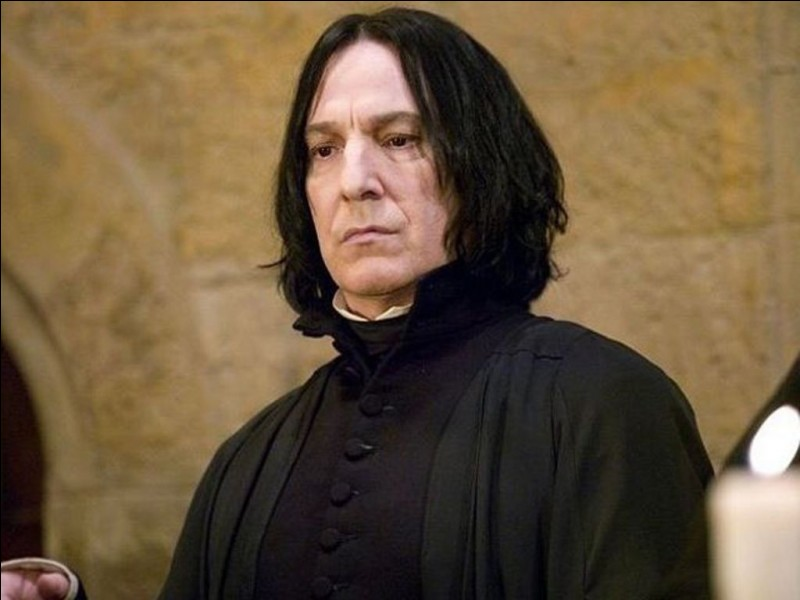Quelle a été la première question que Rogue a posée à Harry ?