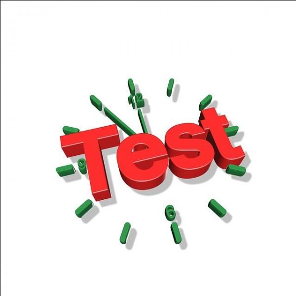 Qu'est-ce qu'un test tube ?