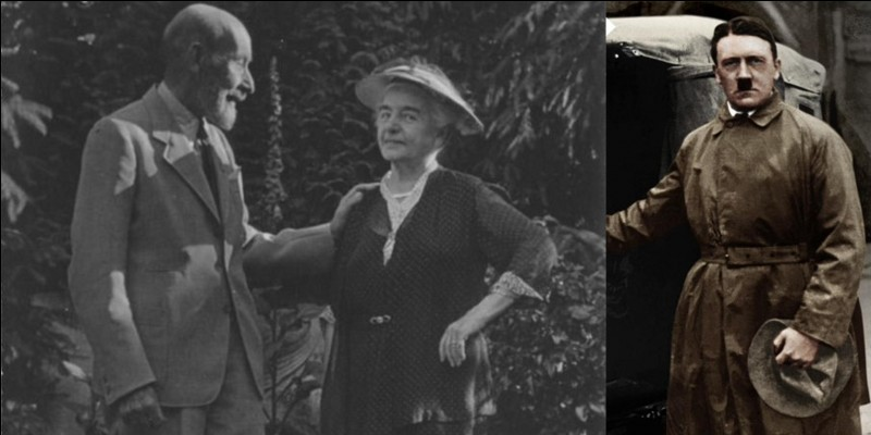 C'est une admiratrice du dictateur. Il est dit qu'elle s'était donné la mission de présenter (années 1920) l'homme politique Adolf Hitler à des industriels afin qu'ils financent son parti. Ce ne fut qu'une « relation d'affaires » pour le dictateur !Qui est cette femme ?