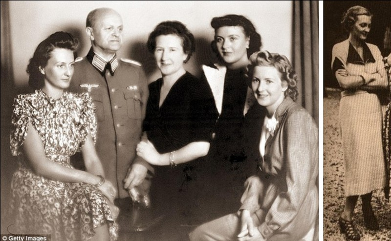 Même parmi la famille de ses proches, Hitler avait des opposantes, c'est le cas de cette personne ! On peut dire, « et pour cause » ! Elle a été la maîtresse d'un médecin juif qui réussira à sauver « sa peau » ! Un membre de sa famille la préviendra qu'elle risque de se retrouver dans un camp de concentration !Qui est-elle ?