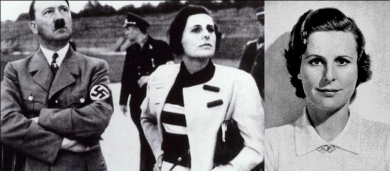 Beaucoup ont cru que cette personne était la maîtresse d'Hitler. En réalité, on ne le sait pas réellement, mais c'est possible. Elle ne le reconnaîtra jamais ! Par contre, elle est connue pour avoir participé à la propagande nazie bien que Goebbels la rejette.Qui est-elle ?