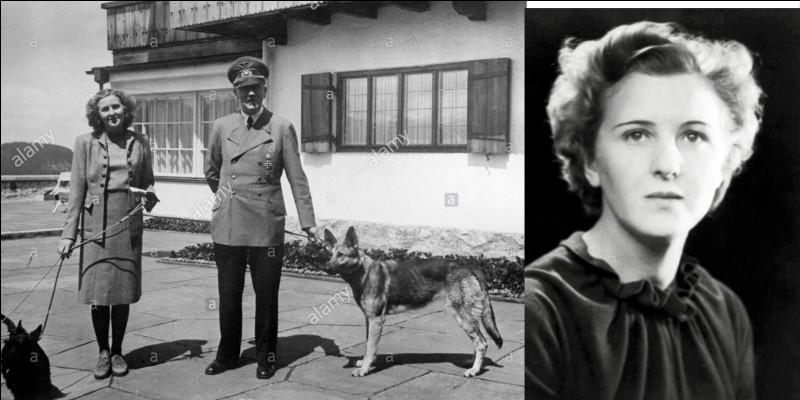 Elle rencontra Hitler à l'âge de 17 ans. Lui, avait 40 ans à ce moment-là ! Elle travaillait comme assistante du photographe officielle du parti nazi. Leur relation a été cachée aux Allemands jusqu'après la fin de la 2e Guerre mondiale.Qui est-elle ?