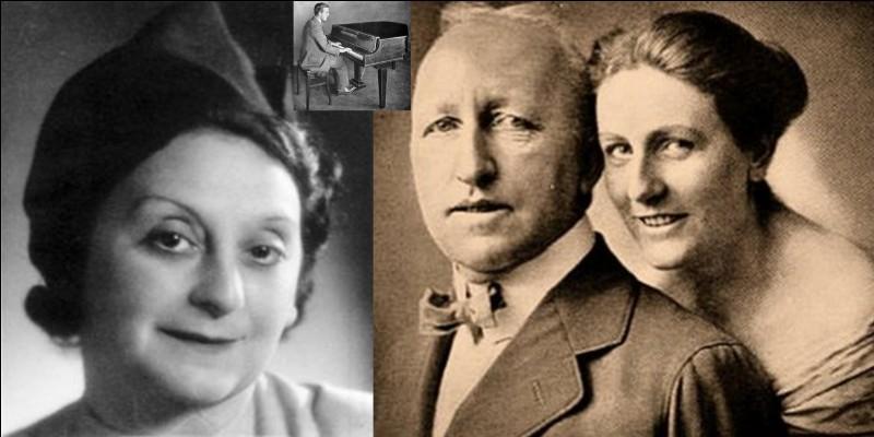 Cette personne considérait Hitler comme son fils adoptif et lui a appris comment bien se comporter dans la « bonne société » allemande. Elle aida financièrement Hitler et n'hésitera pas à le surnommer « Wölfchen » (petit loup). Elle espéra voir sa fille se marier avec lui.Taper sur la bonne touche du clavier pour choisir la bonne personne ?