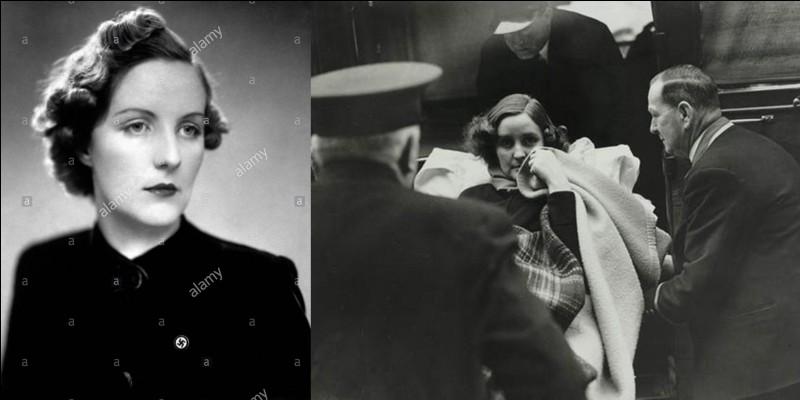 Cette personne est Britannique, elle aurait été la maîtresse d'Hitler et, surtout, une partisane fanatique des thèses du parti nazi. Comme avec d'autres femmes, cela finit mal pour elle, elle tentera de se suicider à la déclaration de guerre entre le Royaume-Uni et l'Allemagne.Qui est cette femme ?
