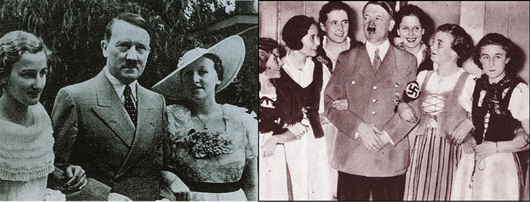 Hitler et les femmes, des relations équivoques, scandaleuses, dangereuses…