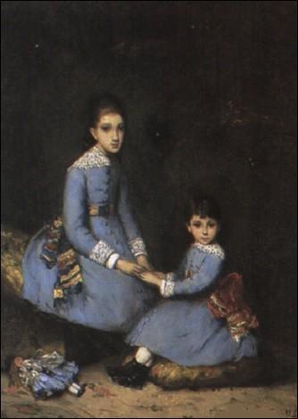 "Qui a peint ""Les deux Fillettes en bleu"" ?"