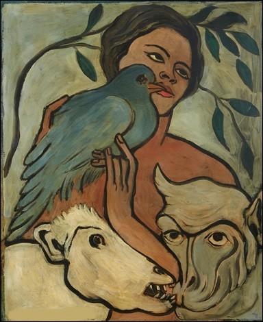 """Qui a peint """"Le Pigeon bleu"""" ?"""