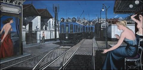 """Qui est le peintre du """"Train bleu"""" ?"""