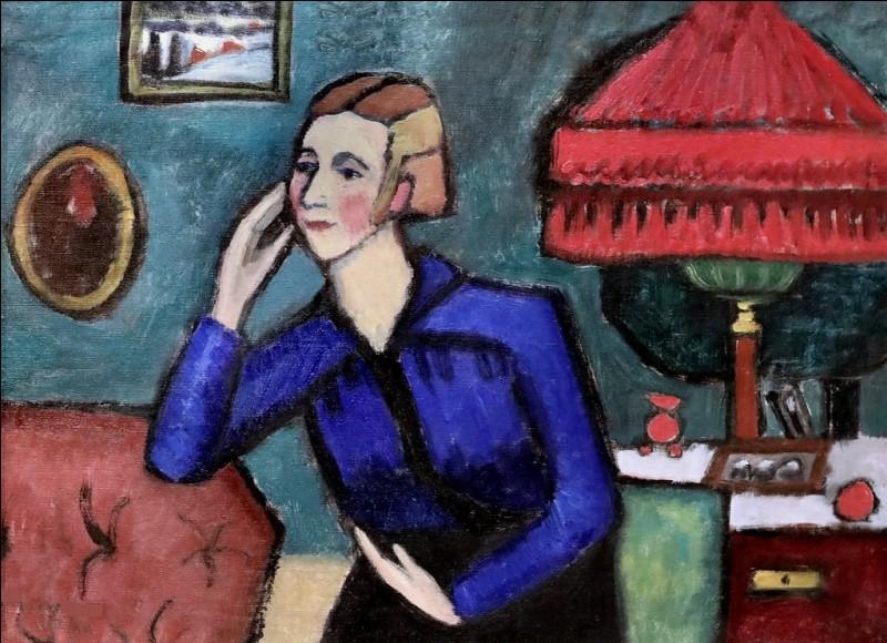 """Qui a peint le tableau intitulé """"Le Chemisier bleu"""" ?"""