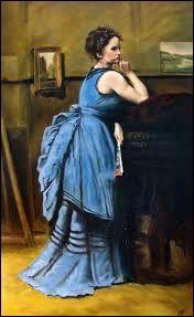 """Qui a peint """"La Dame en bleu"""" ?"""