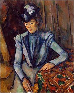 """À qui doit-on """"Portrait d'une dame en bleu"""" ?"""